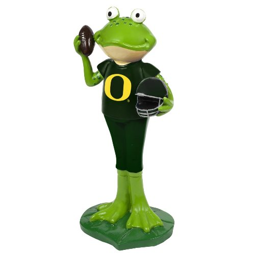 Oregon Ducks NCAA 12 Inch Frog Player Figurine