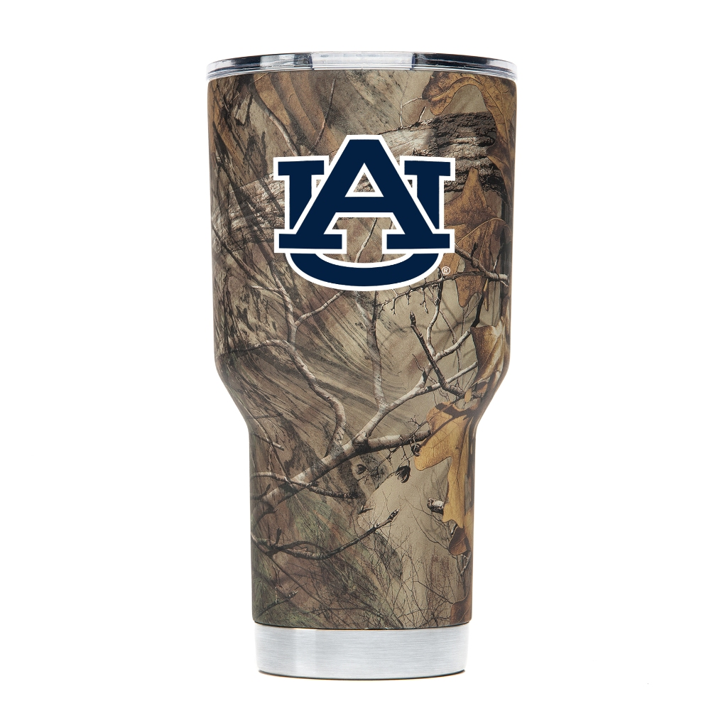 Auburn Tigers NCAA Stainless Steel Insulated 30oz Tumbler - Camo