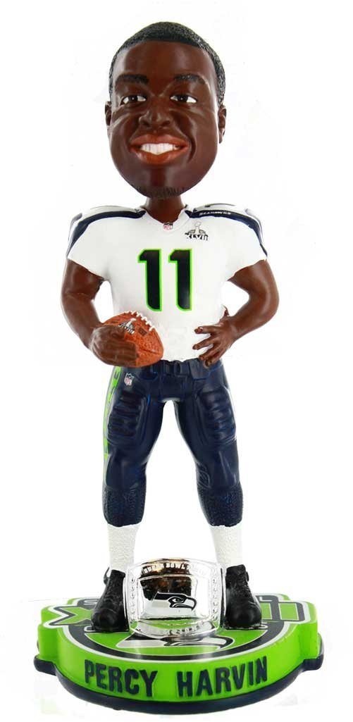 Percy Harvin Seattle Seahawks NFL Super Bowl XLVIII Champions Bobblehead