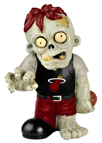 Miami Heat NBA 8'' Zombie Figurine
