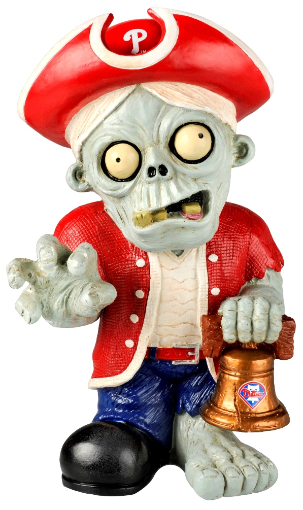 Philadelphia Phillies MLB 8'' Thematic Zombie Figurine
