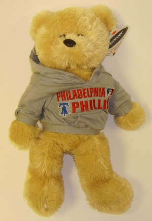 Philadelphia Phillies MLB Large 14'' Plush Bear