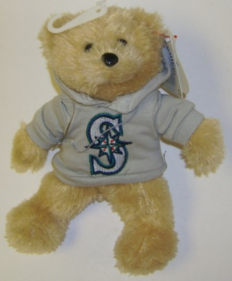Seattle Mariners MLB 8'' Plush Bear