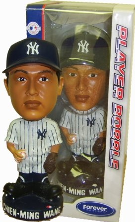 Chien-Meng Wang Yankees Bobblehead Figurine