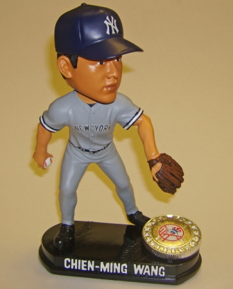 Chien-Meng Wang LE Yankees Road Bobblehead
