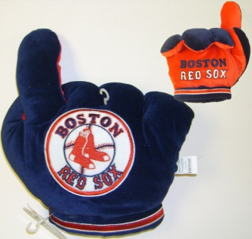 Boston Red Sox Officially Licensed Plush Fan Finger