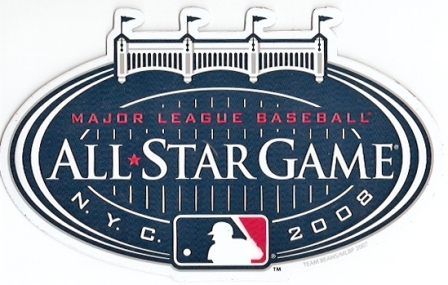 2008 MLB All Star Game Yankee Stadium Car Magnet