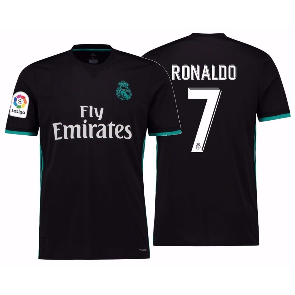 FCM 2018/2019 New #7 Cristiano Ronaldo Kids Third Soccer Jersey & Shorts Youth Sizes